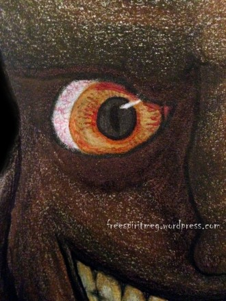 Detail eye WM