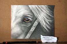 """Universe 8"""" x 7"""" graphite/colored pencil, copic markers"""