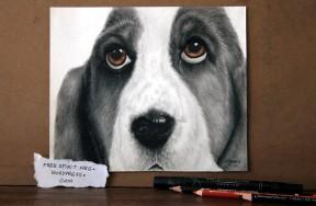 "Precious Moments 8"" x6"" graphite/colored pencil, copic markers, charcoal pencils"
