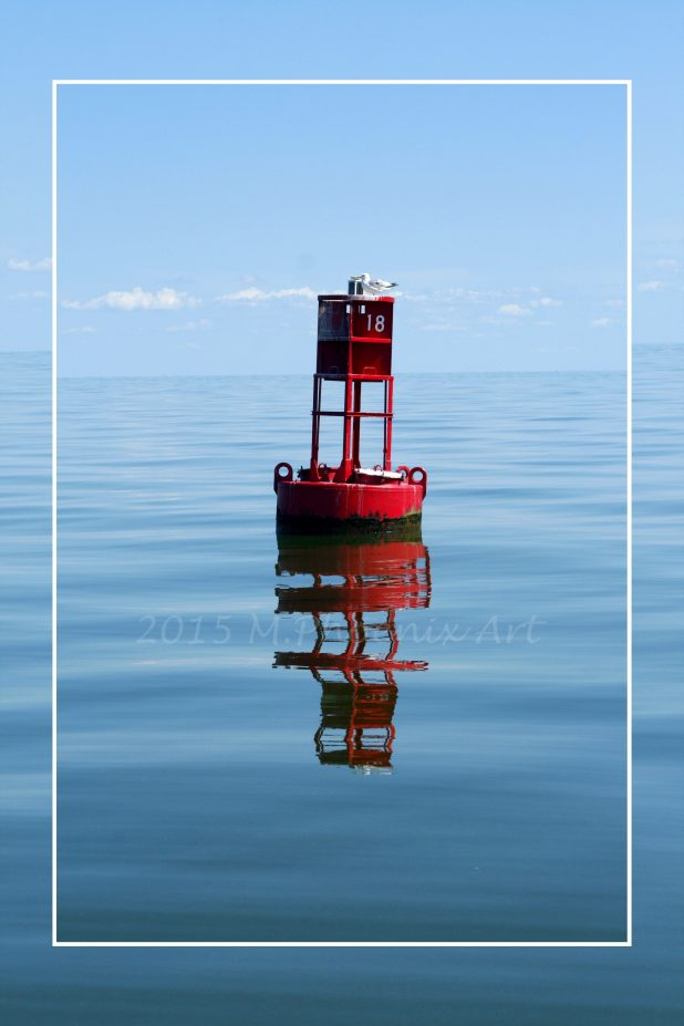 2015 Buoy Reflection, Lake Erie
