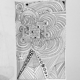 Decided to try out some doodles and see what I came up with.