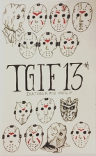 So bittersweet to have Oct. 13th be a Friday! Muahahaha! All the masks of Jason Voorhees.