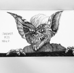 """Stripe from the movie """"Gremlins"""" Definitely another one of my favorites!"""