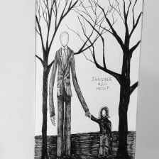Slenderman. What a creepily interesting concept.