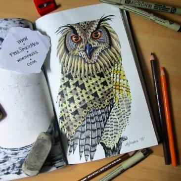 Owl Totem Animal
