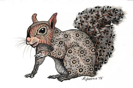 Squirrel Totem Animal